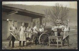 Feldküche - Cuisine De Campagne - Wagen Mit Gulaschkanone - Belebt - Schweiz