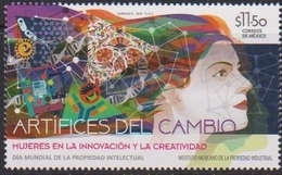 MEXICO , 2018, MNH, WOMEN'S CREATIVITY, INNOVATION,  WORLS DAY OF INTELLECTUAL PROPERTY,    1v - Sciences