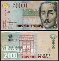 COLOMBIA - 2000 PESOS - 2013 - UNC - Colombia