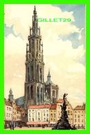 ANVERS, BELGIQUE -LA CATHÉDRALE - PEINTURE DE HEBBELIN - EDITIN STEHLI - - Antwerpen