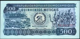 MOZAMBIQUE - 500 Meticais 16.06.1980 {#AA0008717} UNC P.127 - Mozambique