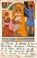 Royaume De Belgique - 75 ème Anniversaire De L'Indépendance - Croix Rouge, Cohn Donnay & Cie 1905 - Patriotiques
