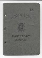 Passeport Belge (1947) - Old Paper