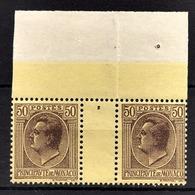 MONACO 1924 / 1933 - PAIRE Y.T.  N° 87  - NEUFS** - Nuevos