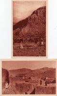 L ALGERIE-CENTENAIRE EN 1930-AURES-BENI-SOUIK,FALAISES-NON VIAGGIATA - Scene & Tipi