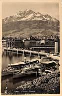 Luzern Pilatus (Verlag Wehrli, Timbre Taxe 1919) - Paquebots