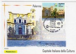 """Palermo 2019 - Mostra Pubblicazioni Storiche """" I Tesori Dei Touring 1894 -2019 - - Manifestazioni"""