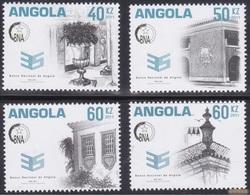 Angola 2011 - 35º Aniv. Angola's National Bank / Complete Set - MNH** - Angola
