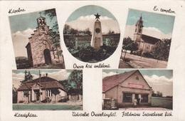 OROSZLANY (Ungarn) - Mehrbilderkarte Gel.1940, Sondermarke - Ungarn