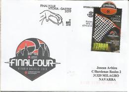 VITORIA CC CON FDC MAT PRIMER DIA FINAL FOUR BALONCESTO BASKETBALL - Basketball