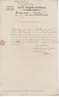 """Franchise Militaire Armée Du Haut-Rhin Etat Major Général Blotzheim 1793 """"Matériaux Pour Le Pont"""" - Marcophilie (Lettres)"""