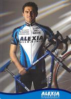 CARTE CYCLISME ANTONIO SALOMONE TEAM ALEXIA 2001 - Ciclismo
