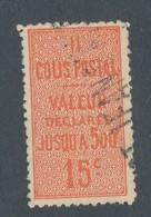 FRANCE - COLIS POSTAUX N°YT 30 OBLITERE - COTE YT : 12€ - 1918/23 - Paketmarken