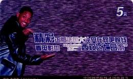 TARJETA DE FUNCIONAL DE CHINA. ACCESO TV - TV ACCESS. CINE, WILL SMITH. CN-netmovie-0001. (236) - Cine & TV