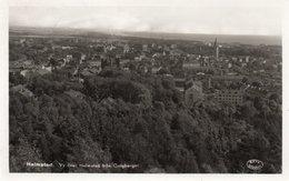 SVERIGE-HALMSTAD-PANORAMA-REAL PHOTO- VIAGGIATA 1939 - Svezia