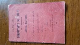 Guerre De 1870 - Société Amicale Des Combattants De 1870-1871 De La Charente Et Des Anciens Militaires D'Angouleme - Marcofilia (sobres)