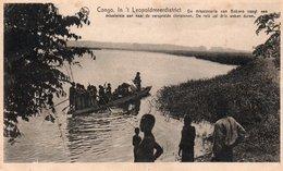 CONGO-IN  LEOPOLDMEERDISTRICT- VIAGGIATA 1926 - Kinshasa - Leopoldville