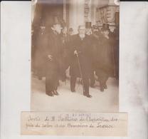 SORTIE DE M FALLIÈRES L'EXPOSITION PRIX SALON ET DES BOURSIERS DE FRANCE 18*13CM Maurice-Louis BRANGER PARÍS (1874-1950) - Personalidades Famosas