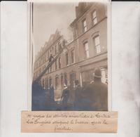 LE ATTENTATS ANARCHISTES DE LONDRES LES POMPIERS LE BRASIER LONDON 18*13CM Maurice-Louis BRANGER PARÍS (1874-1950) - Plaatsen