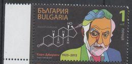 BULGARIA, 2017, MNH, CAREL DJERASSI, CHEMISTS, CONTRACEPTIVE PILL, 1v - Other