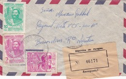 1970'S AIRMAIL PARAGUAY CIRCULEE TO ARGENTINE, MIXED STAMPS - BLEUP - Paraguay