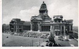 FOTOCARTOLINA-BRUXELLES-PALAIS DE JUSTICE ET MONUMENT DE L INFANTERIE- VIAGGIATA 1954- - Monumenti, Edifici