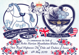 Birth Of Archie  Son Of  Of Harry And Meghan Great Brittain - Familles Royales