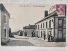 Lignerolles. Route De Mortagne - Otros Municipios