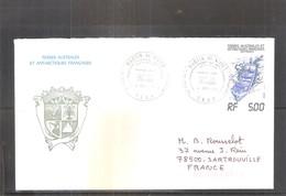 FDC T.A.A.F. - Yv.101 - Bateau (à Voir) - FDC