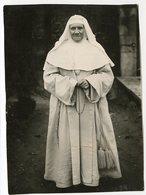 Sainte Nonne Soeur Religion Religieuse à Situer Identifier Chapelet Superbe - Persone Anonimi