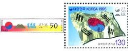 Ref. 289050 * MNH * - SOUTH KOREA. 1995. 30 ANIVERSAIO DE LA LIBERACION - Corea Del Sud