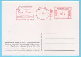J.M. 28 - EMA - Italie- 33 - Compositeur - Maitre De Chapelle - CALDERARA - Musique
