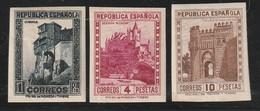 ESPAGNE -  N°509/11 * (1931) Monuments - NON DENTELE - - 1931-Heute: 2. Rep. - ... Juan Carlos I