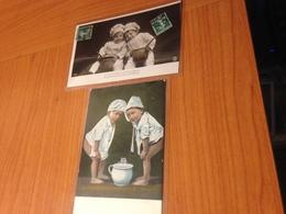 LOT 2 CARTES - Enfants -humoristique- (port à Ma Charge ) - Tarjetas Humorísticas