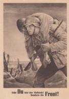 Deutsches Reich Postkarte Propaganda General Gouvernement 1943 Tag Der NSDAP - Briefe U. Dokumente