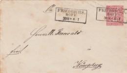 AD Nord Deutscher Postbezirk Umschlag 1868-1871 - Norddeutscher Postbezirk