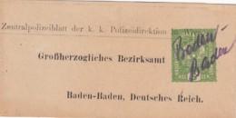 Österreich Streifband 1916 - 1850-1918 Empire