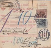 Croatia Paketkarte 1927 - Croazia