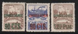 ESPAGNE -  PA N°181A/B/C * Et ** (1937) - Unused Stamps