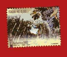 Italia- °-2014 - VINI DOCG.- BARBARESCO DOCG. - Unif. 3578.  Usato. - 6. 1946-.. Repubblica