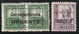 ESPAGNE - Timbre Expres N°17/18 * (1937) - Eilbriefmarken