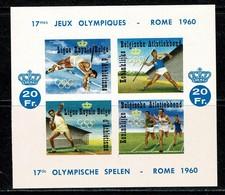 1960 E 80** Ongetand / Non Dentelé MNH Velletje Olymp. Sp. Rome / Jeux Olymp. De Rome 1960. - Commemorative Labels
