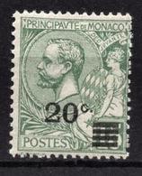 MONACO 1922 / 23  - Y.T. N° 51  - NEUF ** /4 - Monaco