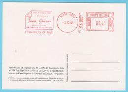 J.M. 28 - EMA - Italie - 43 - G. CALDERARA - Compositeur - Maitre De Chapelle - Musique