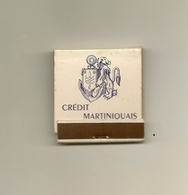 Pochette Allumettes LASTAR De 1956 Neuve Et Pleine:CREDIT MARTINIQUAIS - Boites D'allumettes