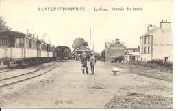 Saint Quay Portrieux / La Gare Arrivée Du Train - Saint-Quay-Portrieux