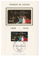 Carte Maximum 1980 - Charles De Gaulle 1940-1970 - YT 2144 - Paris - 1980-89