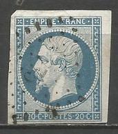 FRANCE - Oblitération Petits Chiffres LP 775 CHATEAU-SALINS (Meurthe) - 1849-1876: Période Classique