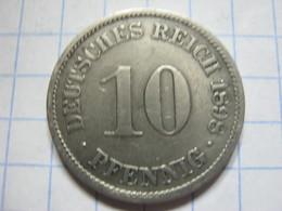 10 Pfennig 1898 (A) - [ 2] 1871-1918 : German Empire