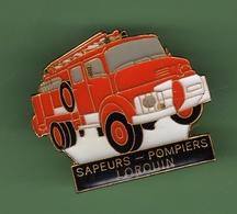 SAPEURS POMPIERS *** LORQUIN *** 0058 (39) - Pompiers